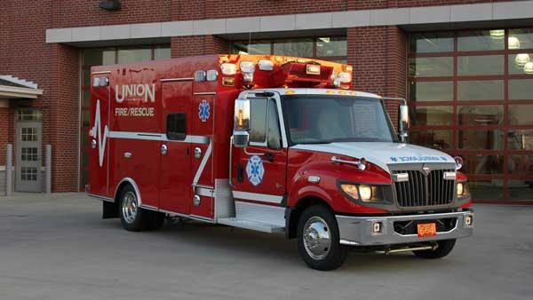 ambulance 664 union fire protection district kentucky