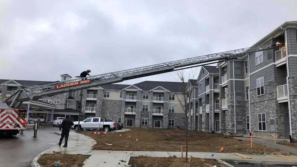 climb ladder join union fire protection district kentucky