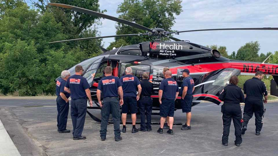 helicopter training union fire protection district kentucky