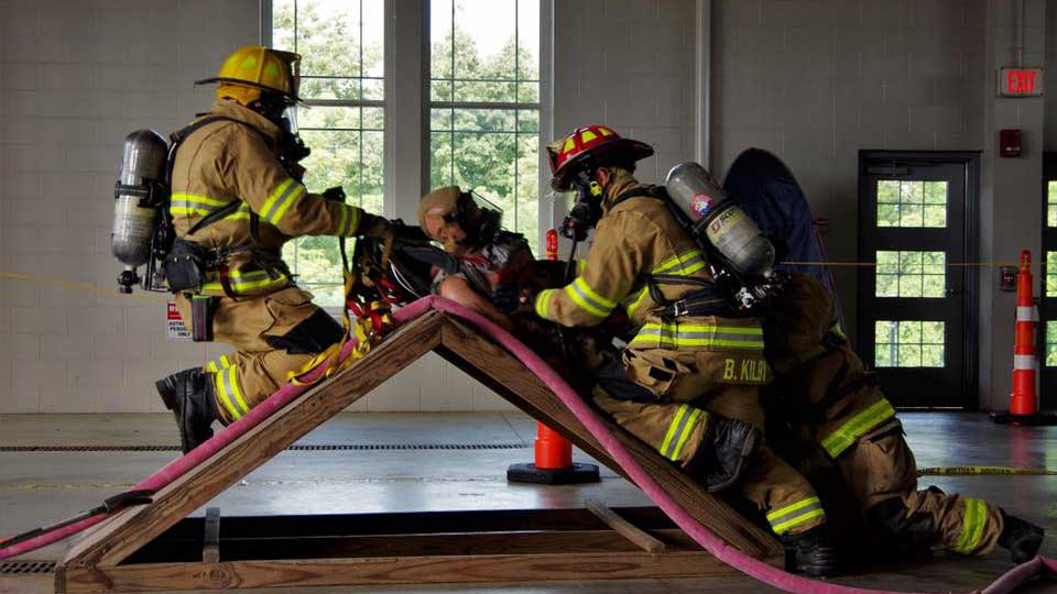 how to become union fire volunteer