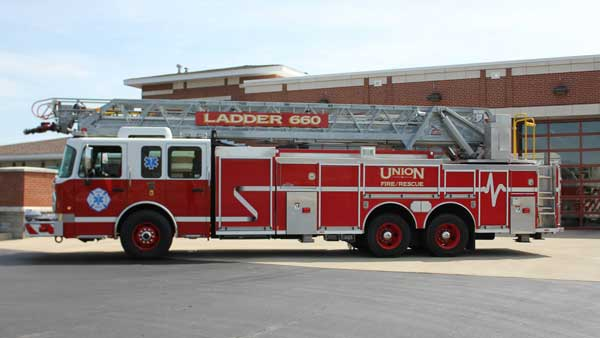 union fire protection distict ladder 660