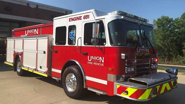 union fire protection district kentucky engine 651