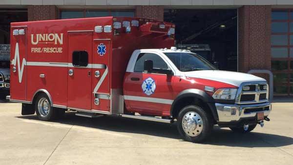 union fire rescue kentucky unit 664